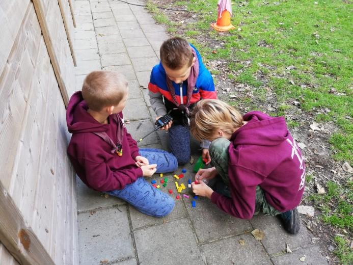 Sinterklaas doet mee aan JOTA weekend Scouting Polanen