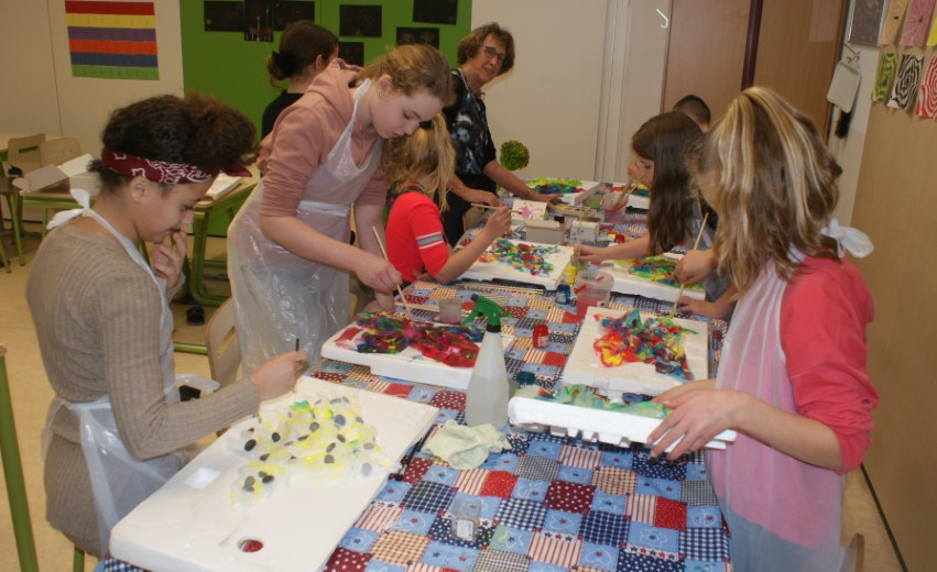 Een hele kunst: basisschool de Hofvilla ontmoet de Hofboerderij!