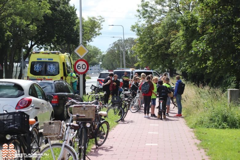 Afzwaai-fietstocht groep 8 eindigt met ongeluk