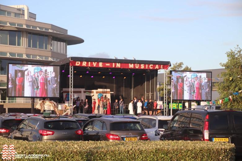 Drive-in musicals groepen 8 bij Westerlee