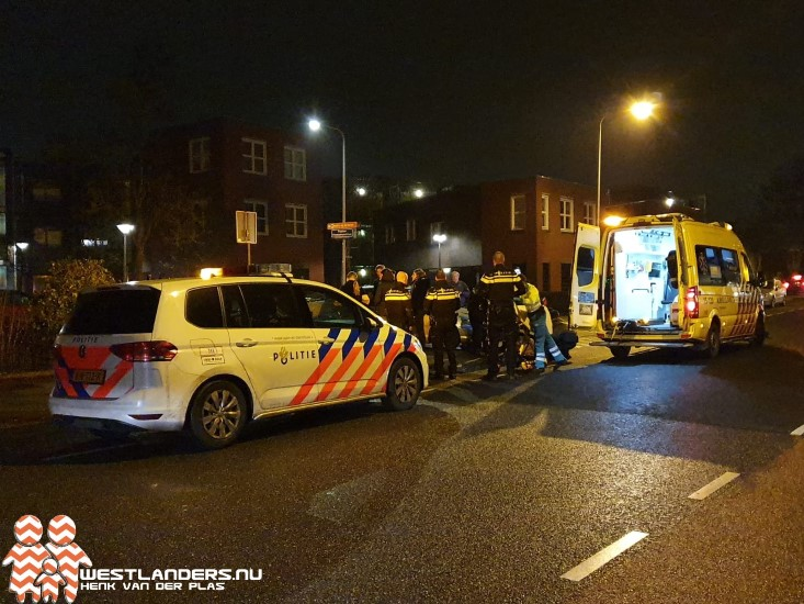 Voetgangster gewond bij ongeluk Kerkstraat