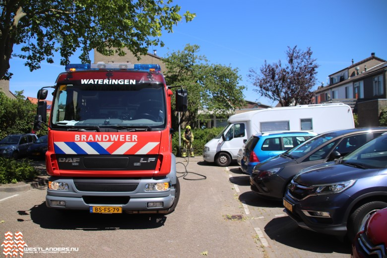 Kleine brand in woning Wilgenhove