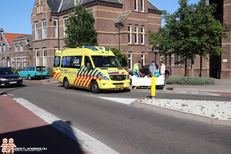 Duitse automobilist rijdt door na ongeluk Kerkstraat