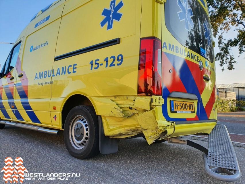 Bestuurder die tegen ambulance botste niet onder invloed