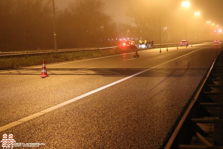 Ongeluk op de A20