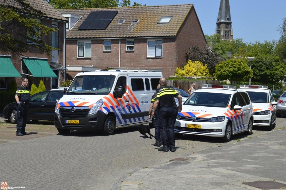Politie paar keer in actie voor verwarde man