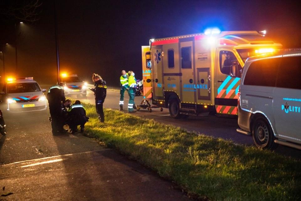 Scooterrijder gewond bij ongeluk Vlaardingsedijk