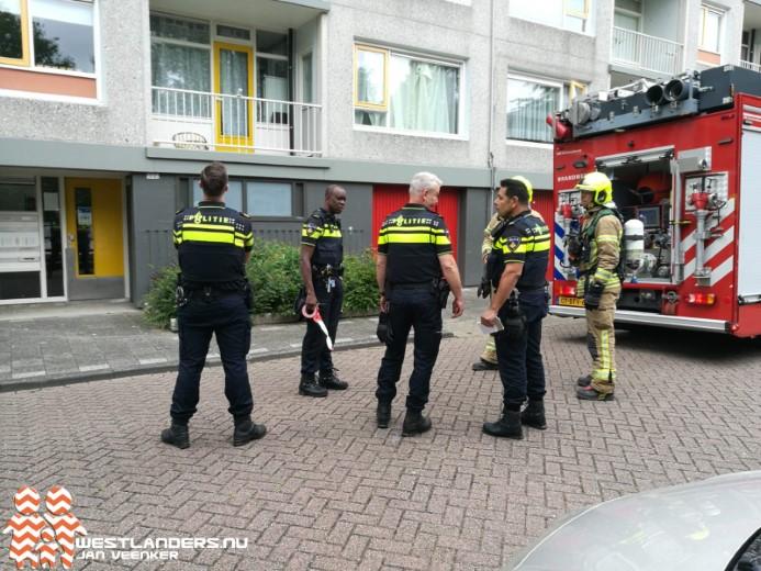 Binnenbrand in woning Jongkindstraat