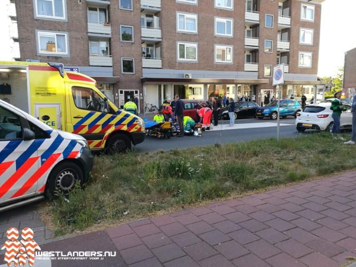 Traumateam inzet voor zwaar gewonde voetganger