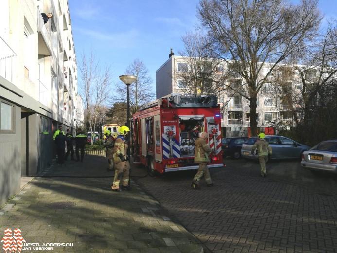 Keukenbrand in appartement Ruysdaelstraat