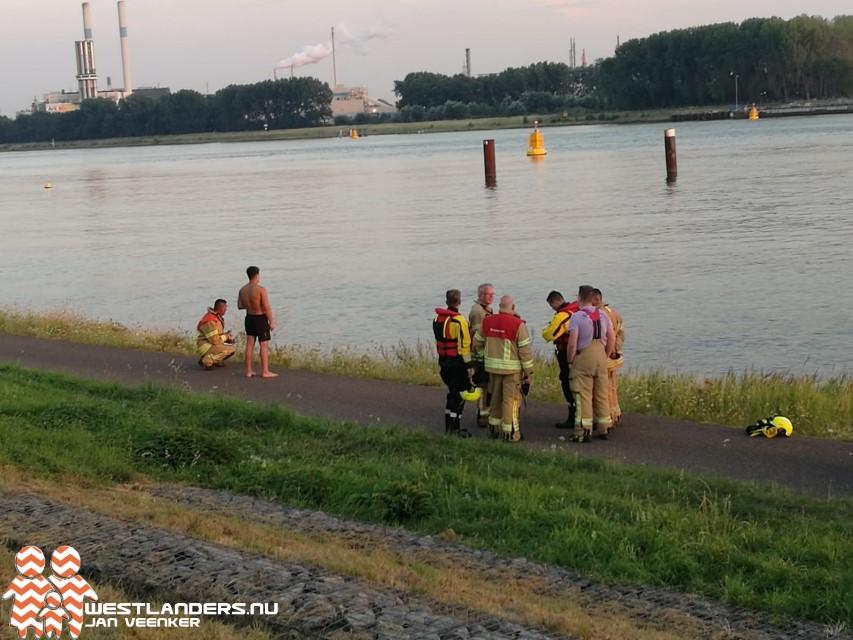 Levensgevaarlijke stunt bij Nieuwe Waterweg loopt goed af