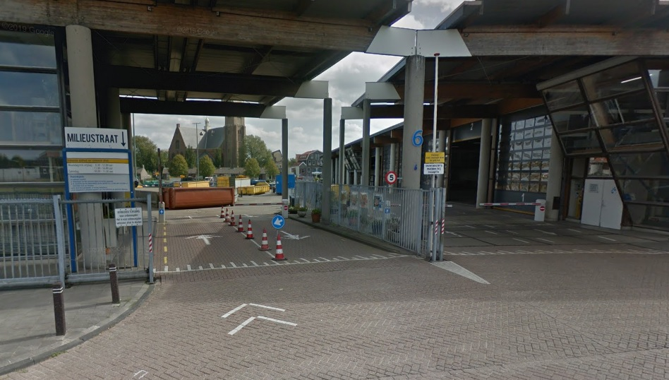 Milieustraat Maassluis nog niet open