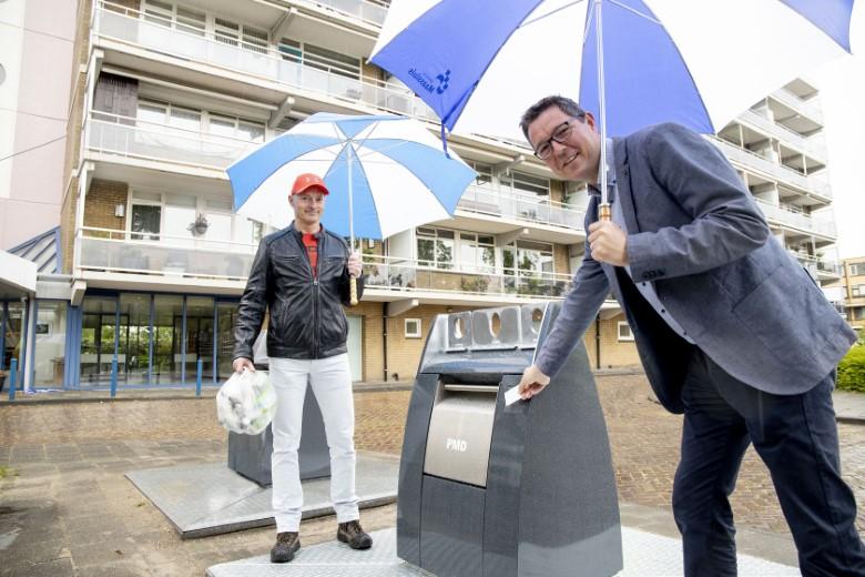 Milieu-eiland in Zwaluwstraat geopend