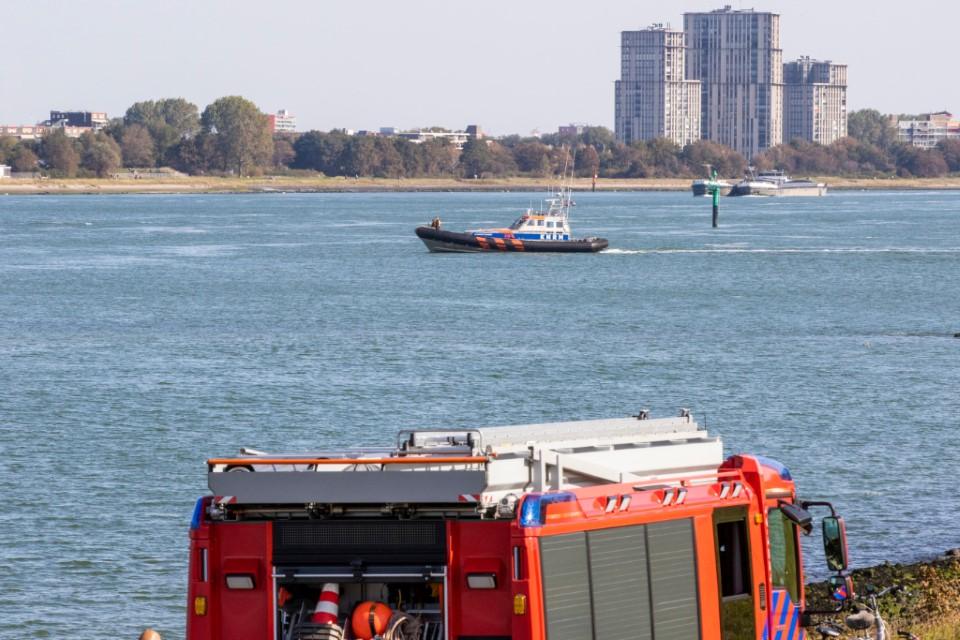 Grote zoekactie bij Nieuwe Waterweg na aantreffen kinderfietsjes