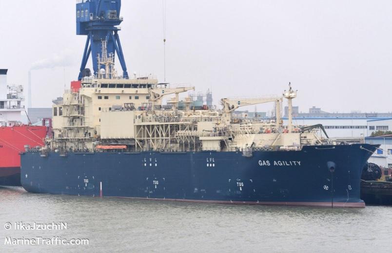 Dit weekend aankomst grootste LNG bunkerschip ter wereld