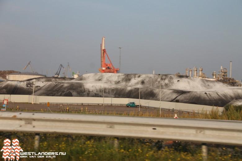 Weer stofoverlast in Hoek van Holland