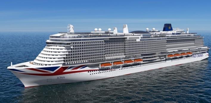 Drie cruiseschepen gearriveerd in Rotterdam