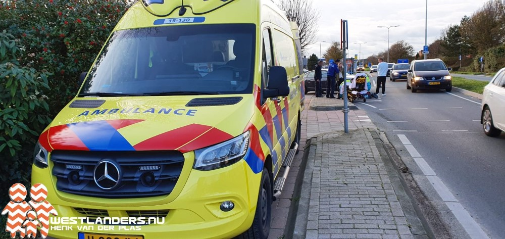 Vrouw gewond bij ongeluk Emmastraat