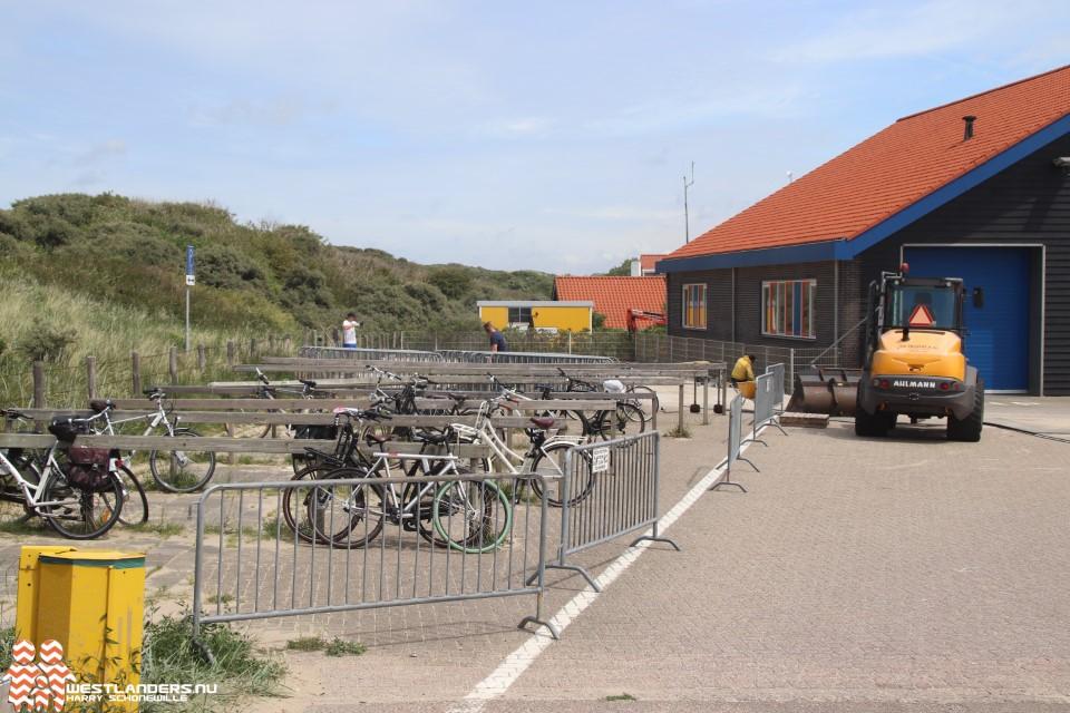 Ter Heijde krijgt extra fietsenstalling bij Strandweg