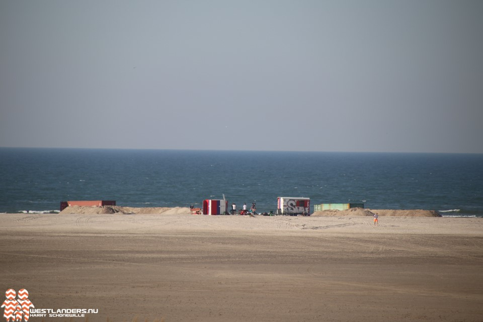 Wat doen die zeecontainers op de Zandmotor?