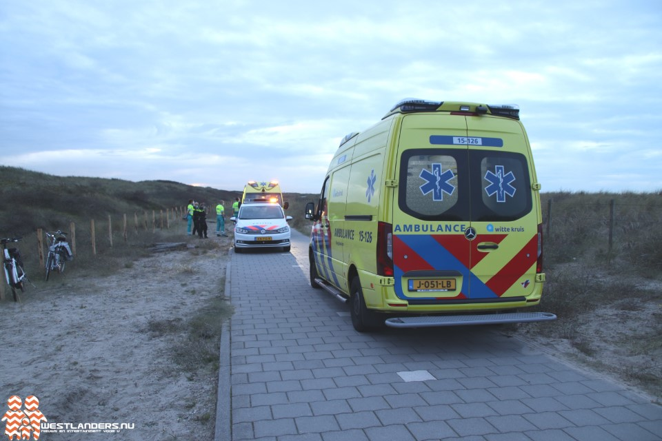 Twee gewonden bij ongeluk fietspad duinen
