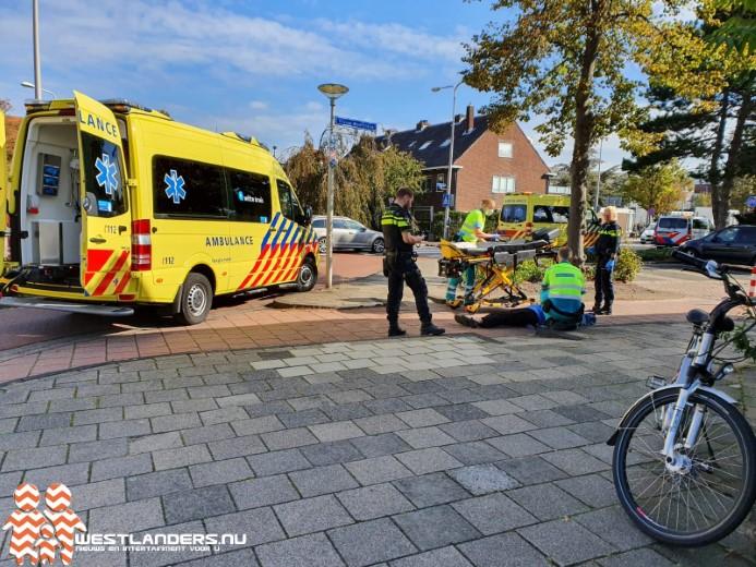 Twee gewonden bij ongeluk Kleine Woerdlaan
