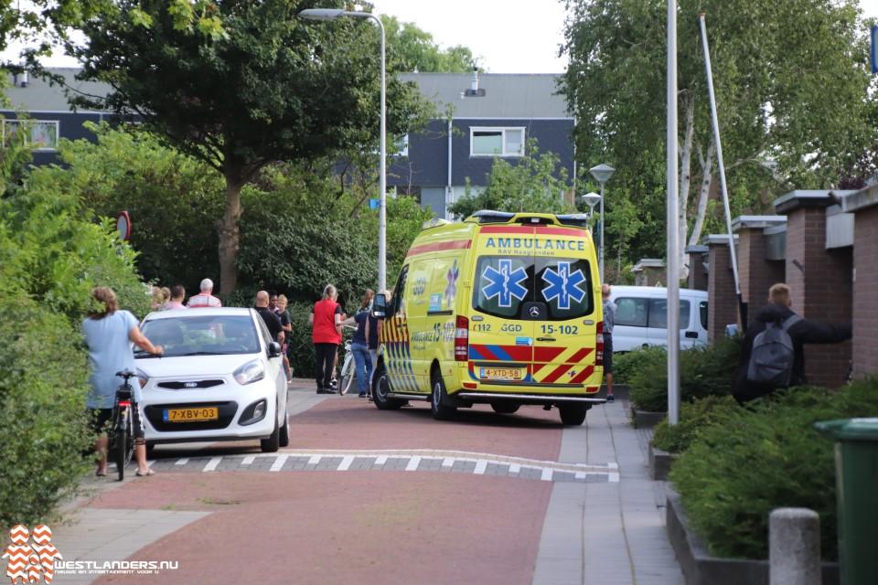 Traumahelikopter naar Naaldwijk voor reanimatie