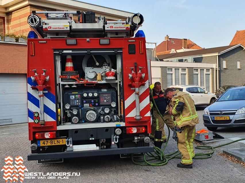 Melding gaslucht aan de Rijsenburgerweg