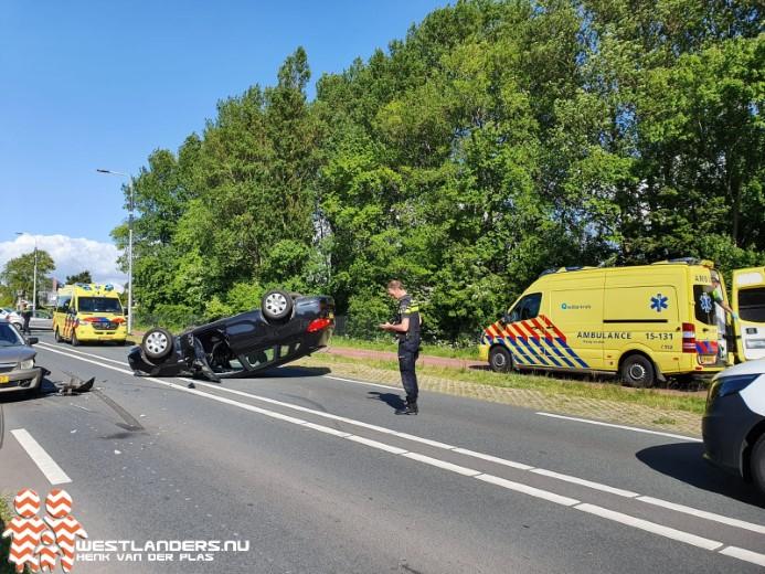 Twee gewonden bij ongeluk Nieuweweg