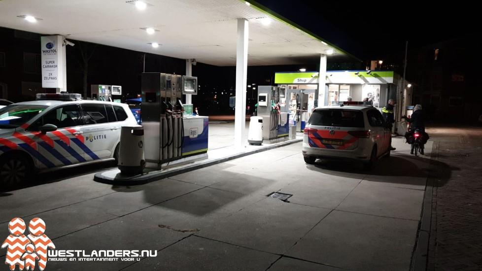 Ruzie bij tankstation in Poeldijk