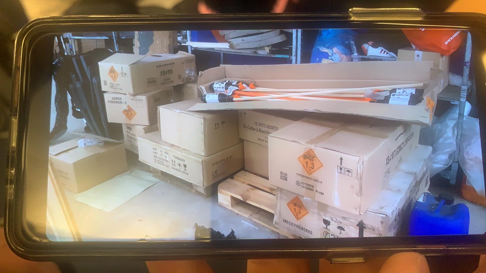 Illegaal vuurwerk in beslag genomen