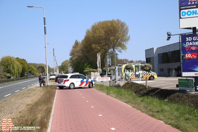 Ongeluk op de Nieuweweg