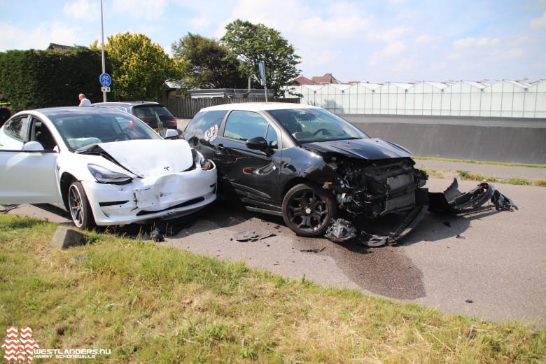 Ongeluk aan de Van Elswijkbaan