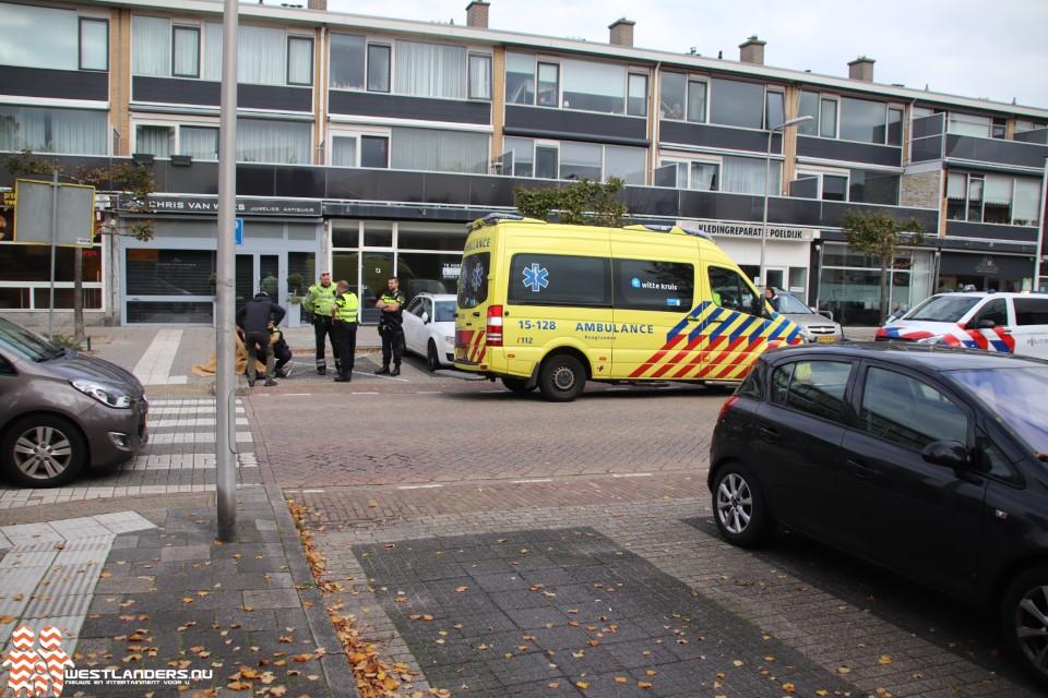 Licht gewonde bij ongeluk Jan Barendselaan