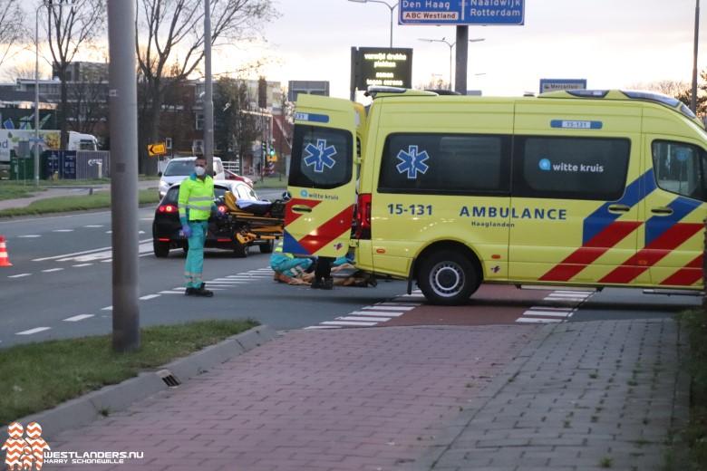 Fietser gewond bij ongeluk Monsterseweg