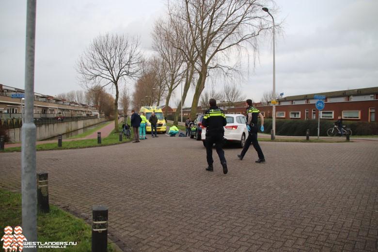 Meisje gewond bij ongeluk Verburghlaan