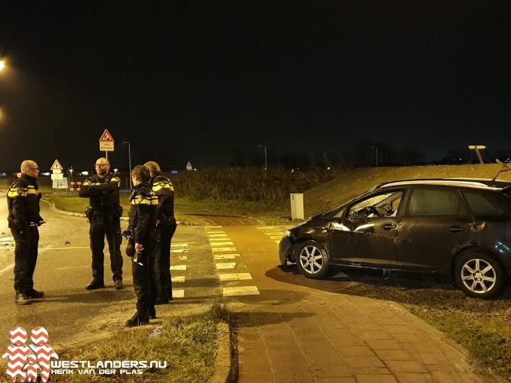 Automobilist naar politiebureau na ongeluk