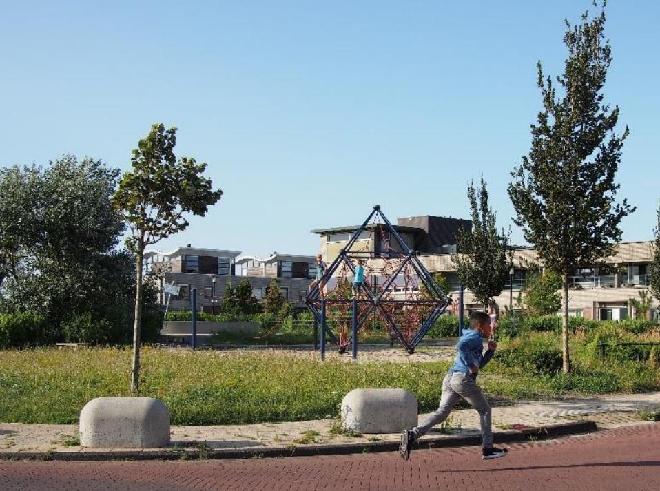 Situatie rondom ontsluiting woonwijk Duingeest