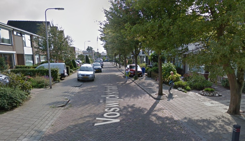 Collegevragen inzake vreemd verkeersbesluit Voswijckstraat