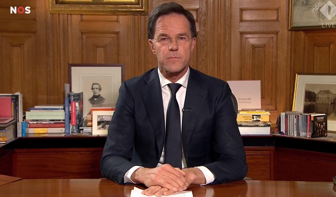 Toespraak premier Rutte tot het Nederlandse volk