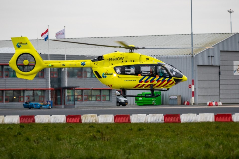 Ambulancehelikopter weer terug voor patiëntenvervoer Waddeneilanden