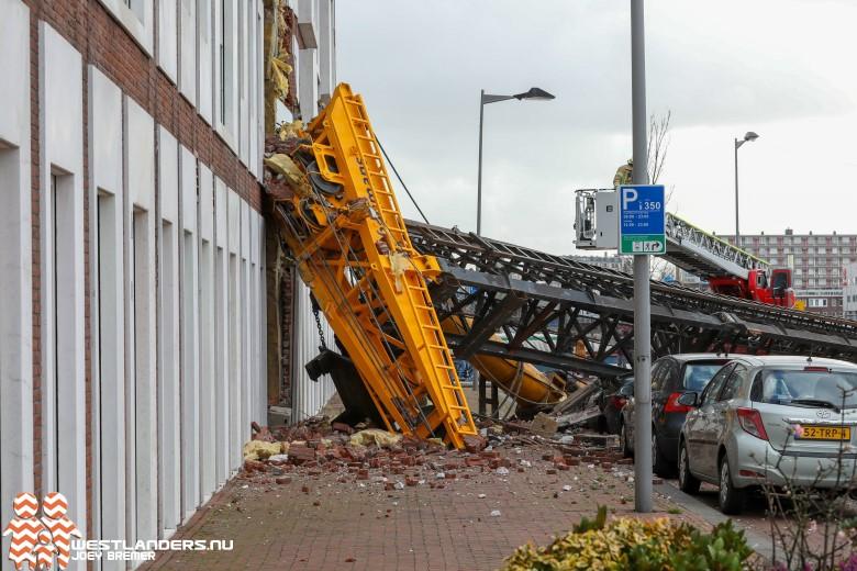 Heistelling omgevallen bij Sumatraweg Rotterdam