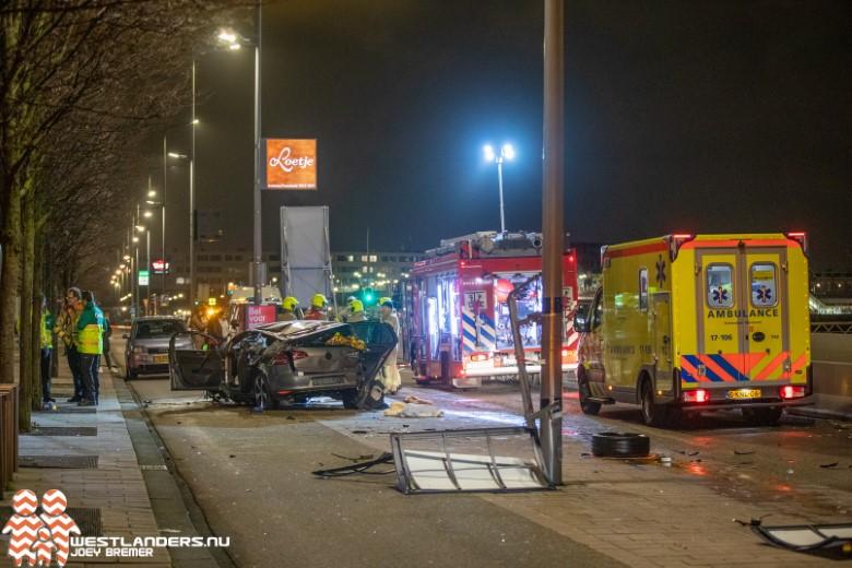 Kinderen zwaar gewonden na ongeluk bij Erasmusbrug