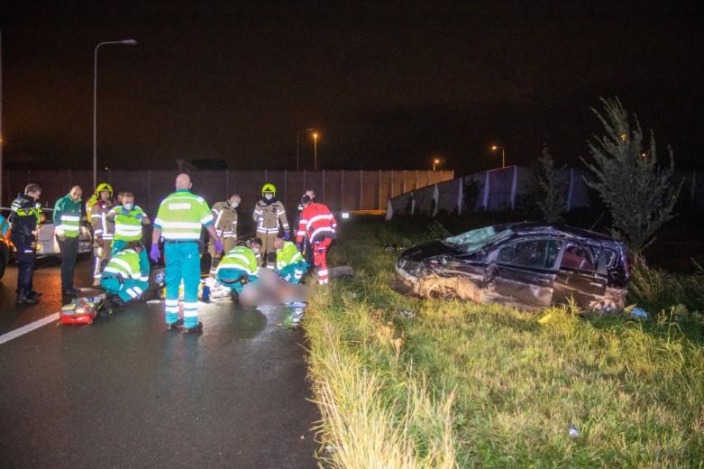 Dodelijk ongeval op toerit A20