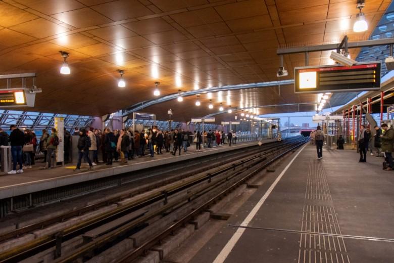 Storing legt gehele metronetwerk plat