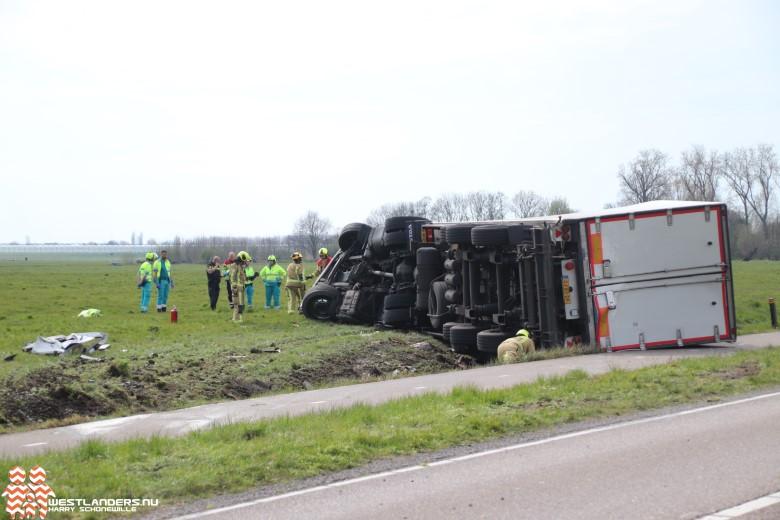 Ernstig ongeluk aan de Woudseweg (N223)