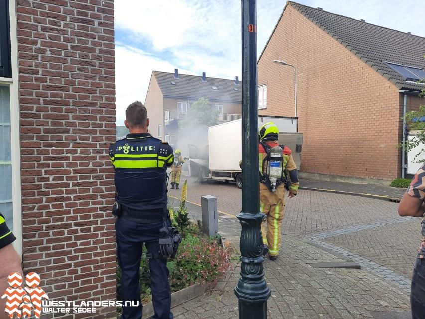 Voertuigbrand aan de Schippershof