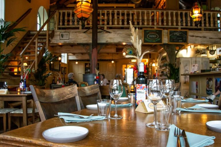 Biologisch café en restaurant Indigo gesloten