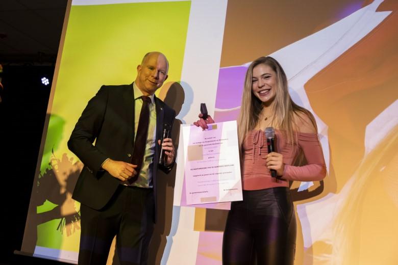 WestlandStek voor schaatskampioene Jutta Leerdam