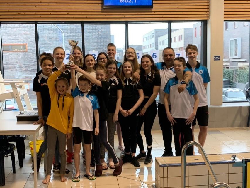 Startgemeenschap Westland Swimming Stars promoveert naar A-Poule